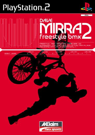 PS2 Dave Mirra Freestyle BMX 2 Cheats