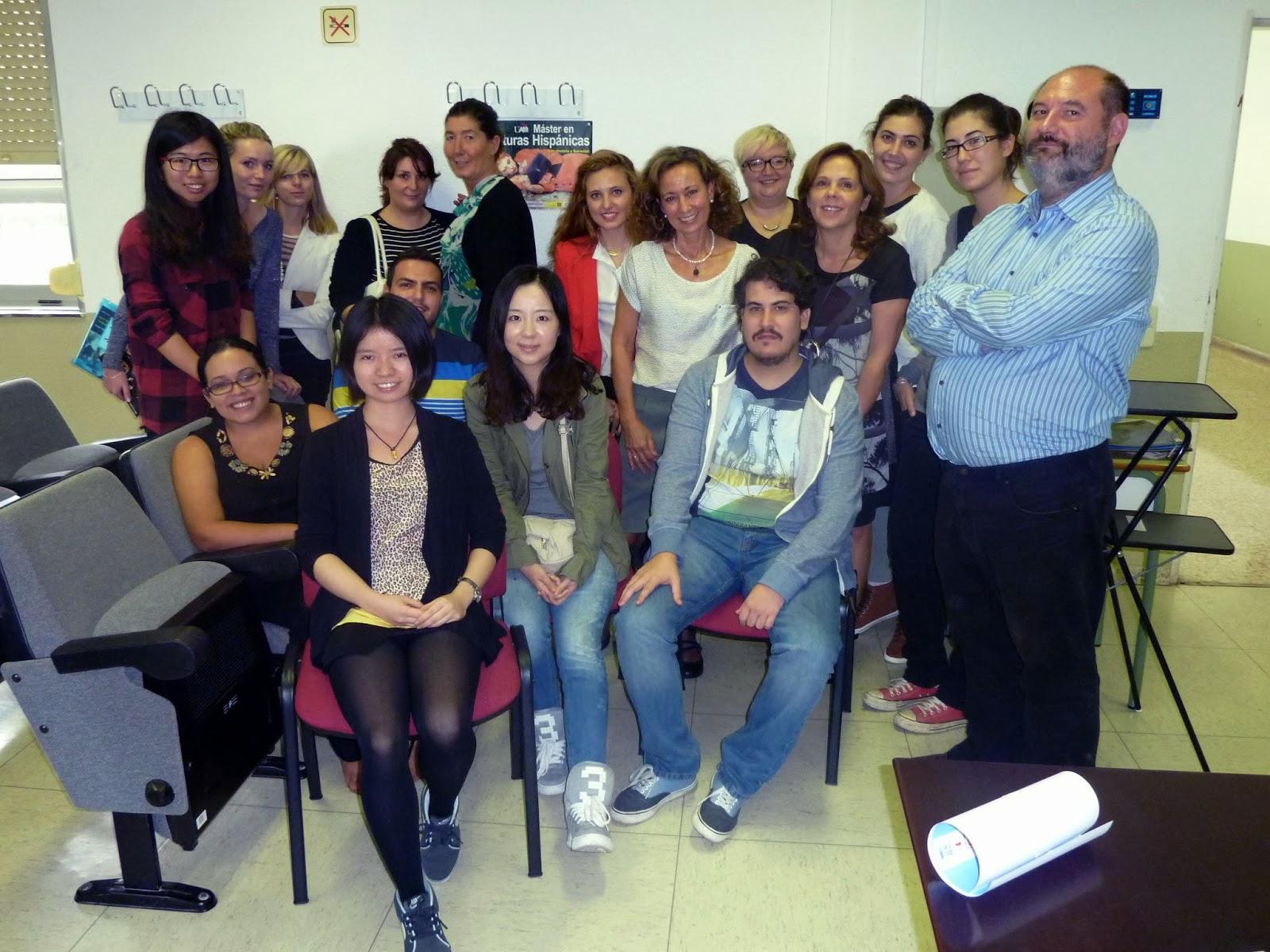 Carmen Valcárcel, Máster en Literaturas Hispánicas, Universidad Autónoma de Madrid