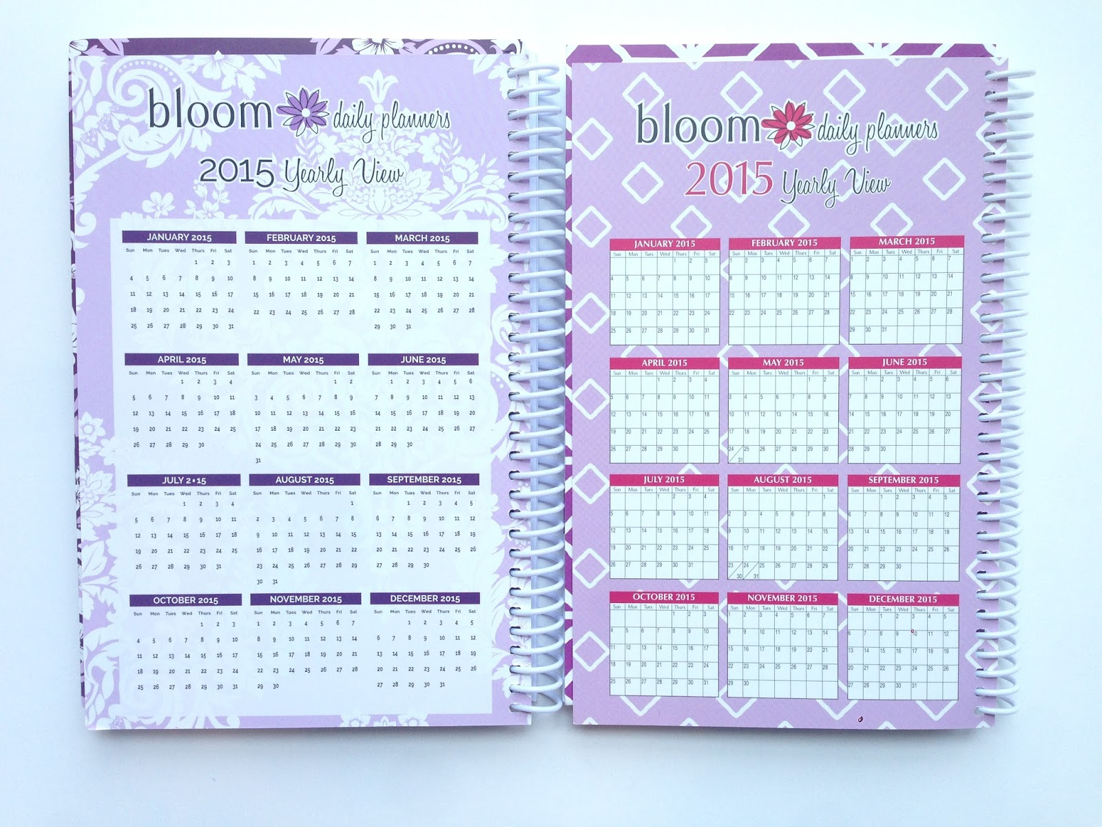 My Purpley Life: My Review: Bloom Daily Planners + Giveaway