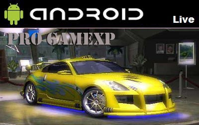 Need For Speed Anderground 2 1.0 Game Android
