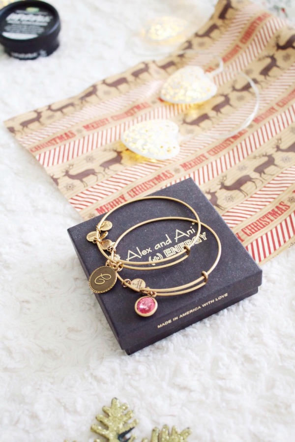 Alex and ani gold bangles