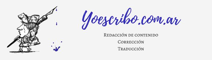 Yoescribo