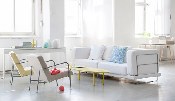 BEMZ sorgt für frische Farbe der IKEA Polstermöbel wie Sofa und Sessel!