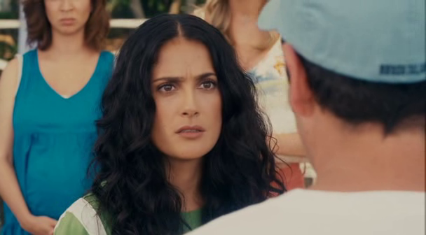 salma hayek grown ups bikini. salma hayek grown ups hot.