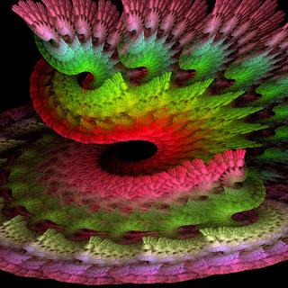 fractal art tornado
