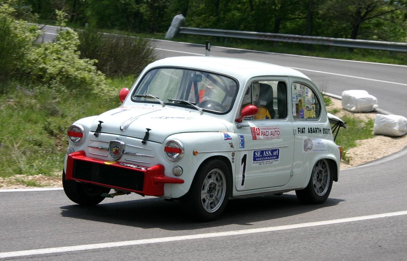 Motor Historia Abarth 850 Tc