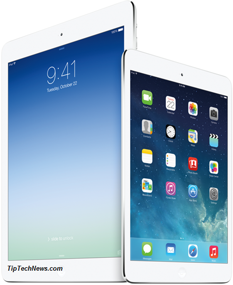 iPad Air vs iPad Mini 2