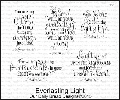 Our Daily Bread Designs Everlasting Light Stamp set