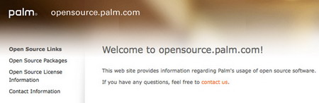 Palm Open Source Portal launched