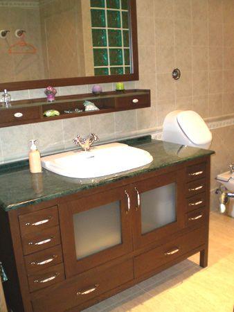 Muebles de ba o industria procesadora de maderas ipm - Como hacer mueble para bano ...