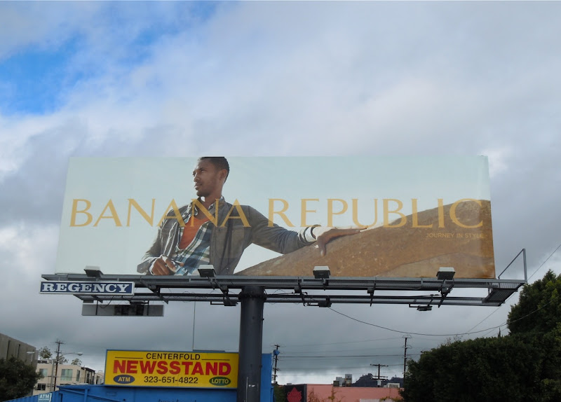 Banana Republic fashion 2011 billboard