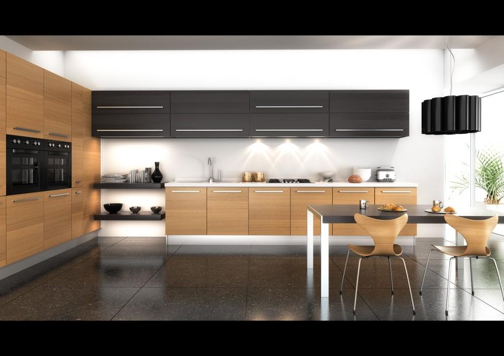 desain dapur gambar rumah minimalis
