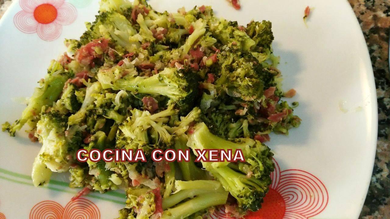 Cocina con xena br coli con jam n en gm d e f y tradicional for Cocina con xena olla gm d