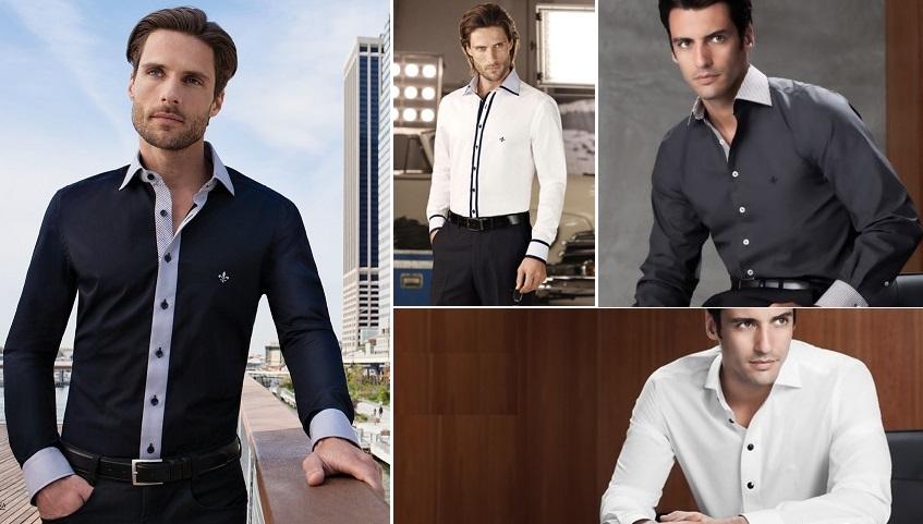f4705e5f52 Muitos homens ainda têm a impressão de que camisa social parece farda