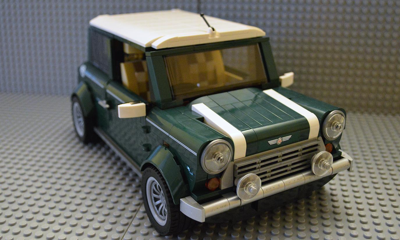 bricks pix and panels lego review 10242 mini cooper. Black Bedroom Furniture Sets. Home Design Ideas