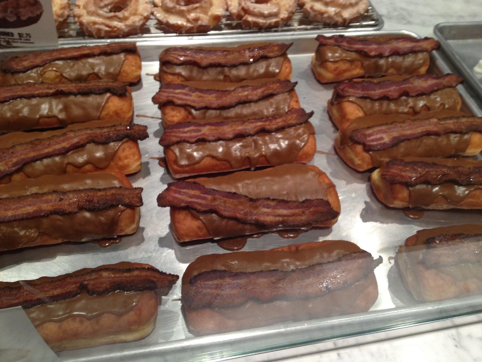 Maple Bacon Long John