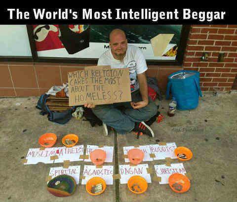 world's Most Intelligent Beggar வெவரமான, வெவகாரமான பிச்சைகாரர்ர்ர்ர்ர்