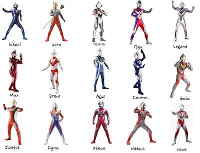 Desain Kostum Ultraman Paling Keren