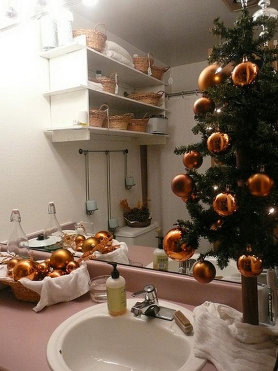 decoracao de lavabo para o natal:Blog Casa C&M: Decoração de Natal: Como decorar o lavabo ou banheiro
