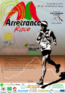 Cartel de la Arretranco Race 2013