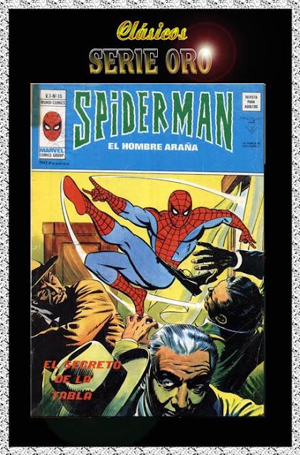 Portada Spiderman Volumen 3 Nº 35 Ediciones Vértice