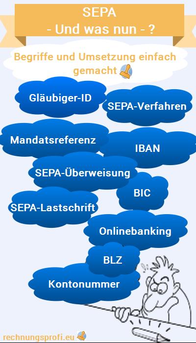 SEPA - und was nun? Begriffe und Umsetzung leicht gemacht!