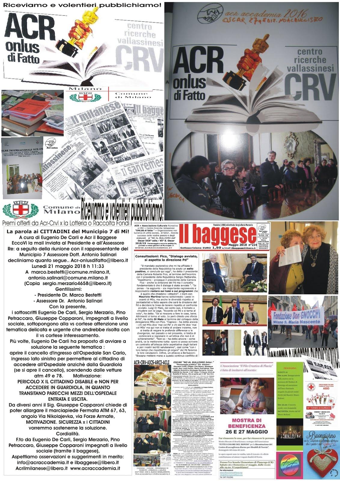 ACR-CRV-APPUNTI con OSCAR 30a!