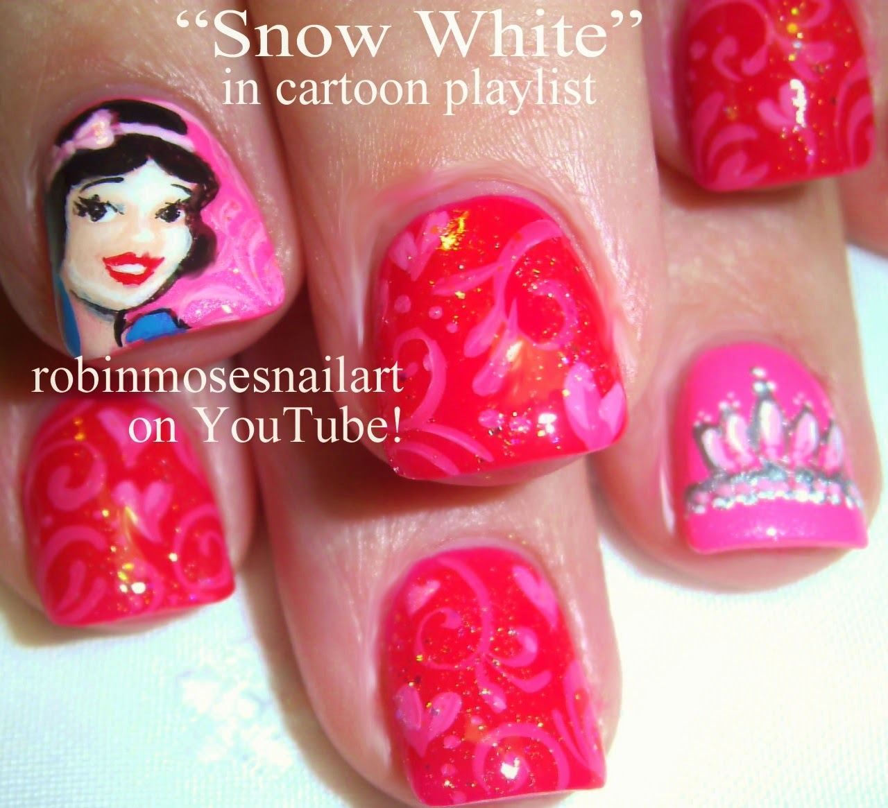 The Captivating Cute easy nail designs minnie mouse Image
