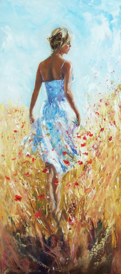 Karen Wallis   British Figurative painter