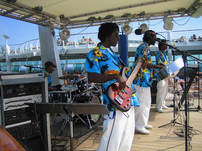Reggae Band On Cruise Ship