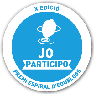 X Edició premi espiral d'edublogs