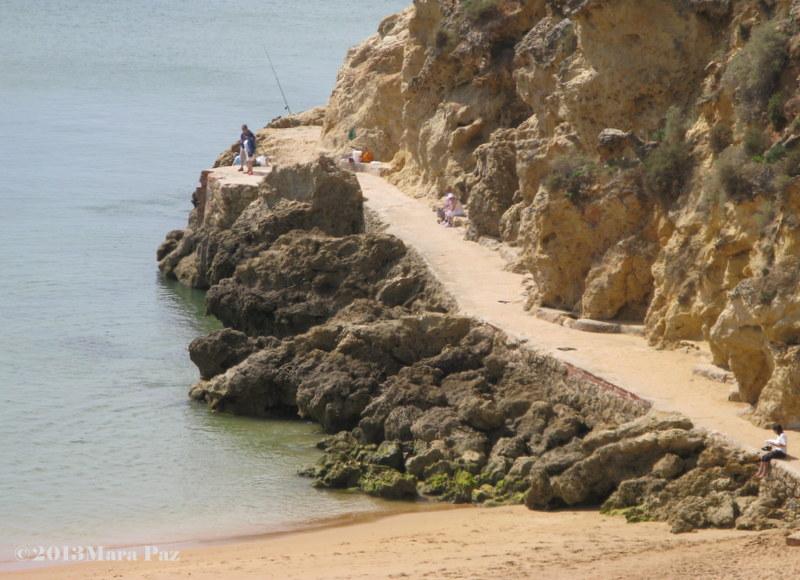 Albufeira cliffs
