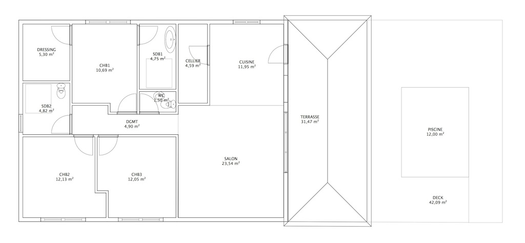 Construire maison cr ole en martinique les plans - Plan de maison antillaise ...