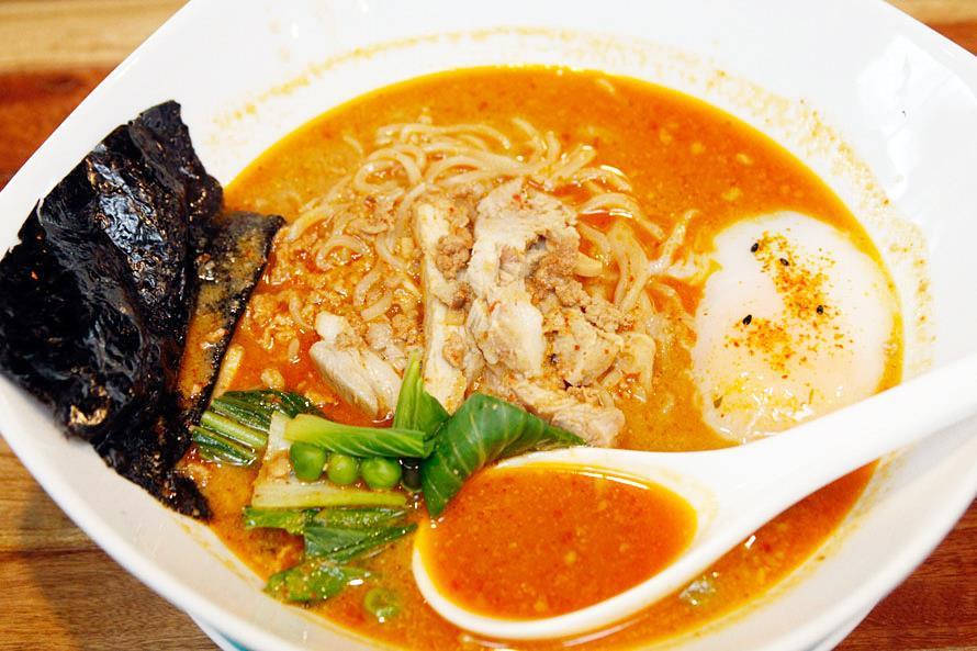 Nomama Artisanal Ramen Spicy Tantanmen Bowl