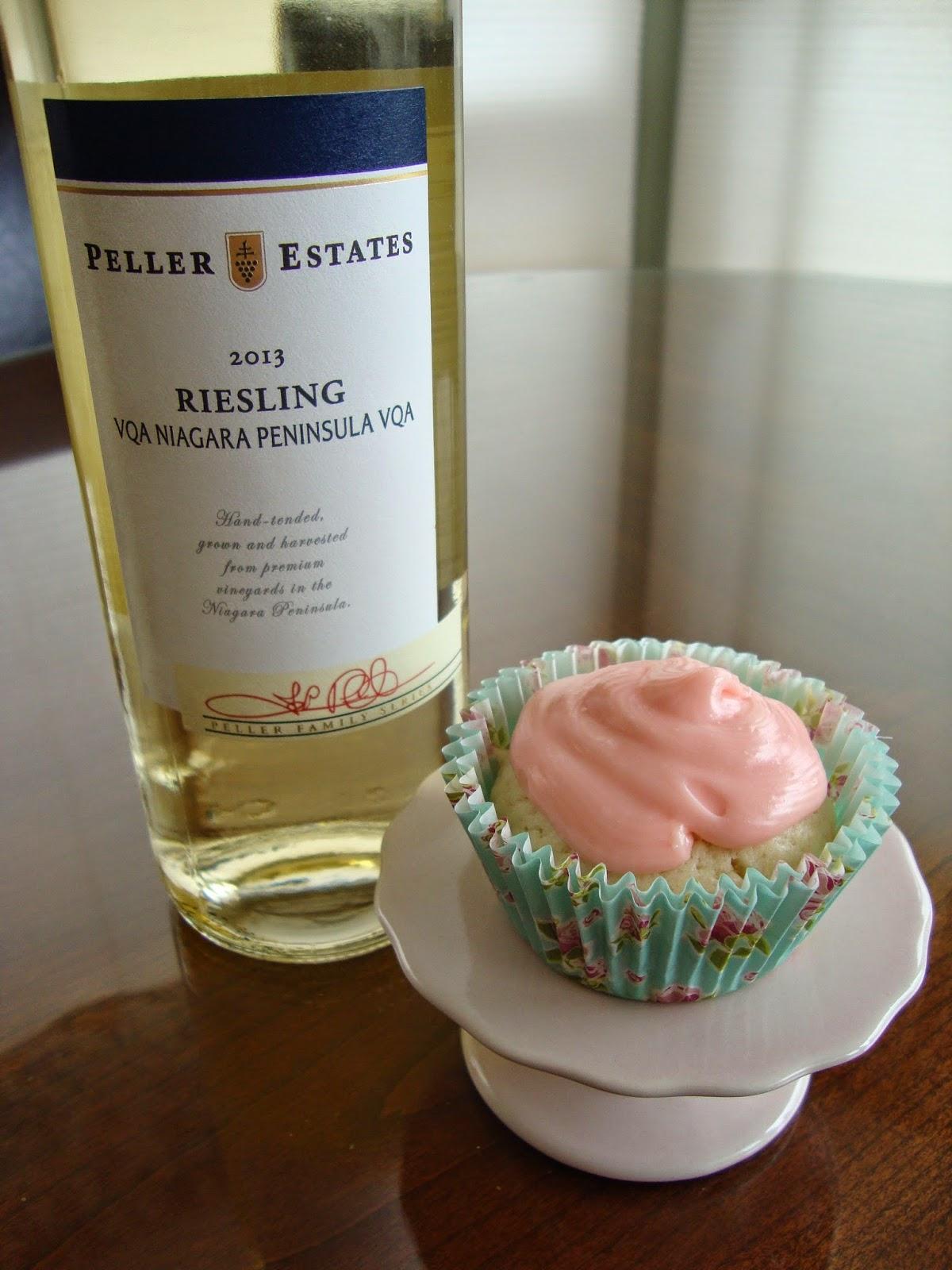 Riesling Cupcakes