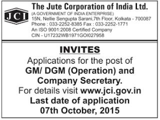 JCI Recruitment Advertisement 2015