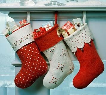 botas de linda navidad
