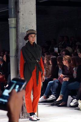 Pokaz mody, Lille, Francja, 2015 - projektant: Clivia Nobili , Cafe Chic Choc