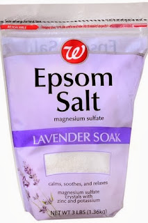 The french touch my holiday survival kit for Epsom salt in french