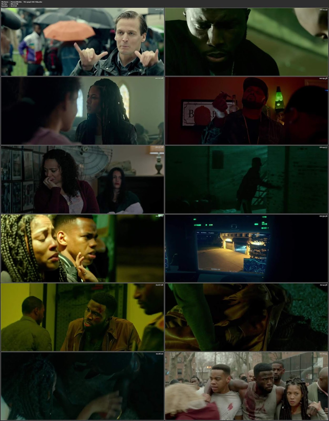 The First Purge 2018 English Full Movie WEB DL 720p ESubs
