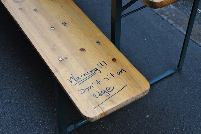 Wichtiger Hinweis in der Jægersborggade