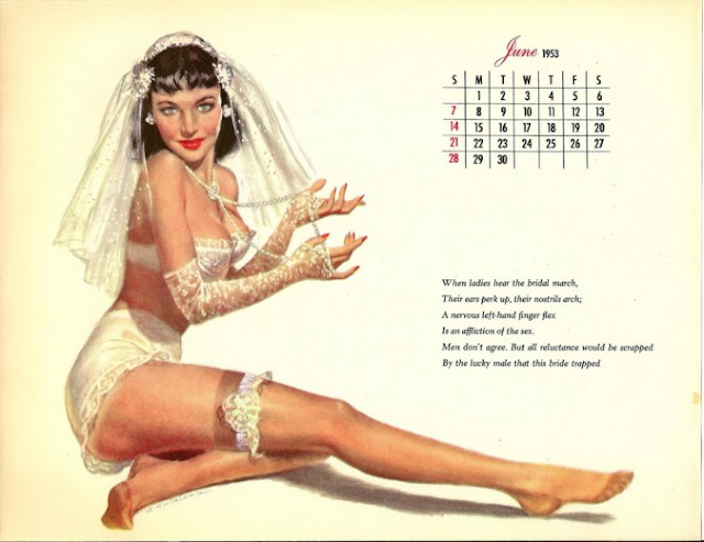 Kalender seksi tahun 1953