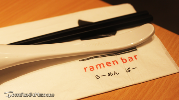 Foodie from the Metro Ramen Bar Utensils