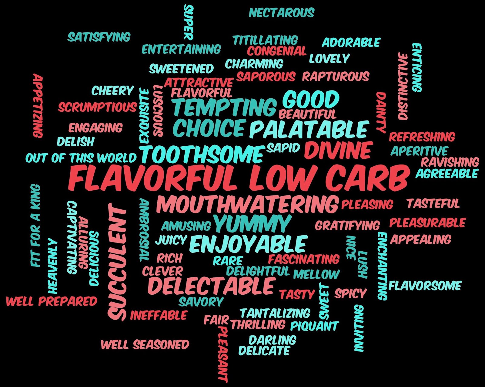FLAVORFUL LOW-CARB