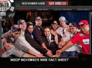 WSOP 2012 - OCTOBER Nine