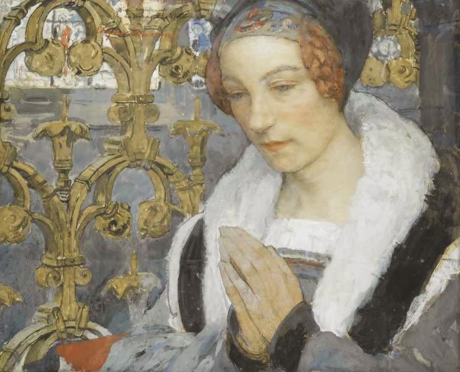 the woman gallery  edgar maxence   1871
