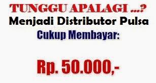 Jadi Distributor hanya 50Rb