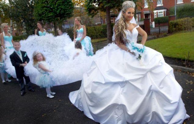 Matrimonio Gypsy Us : La chimère big fat gipsy weddings