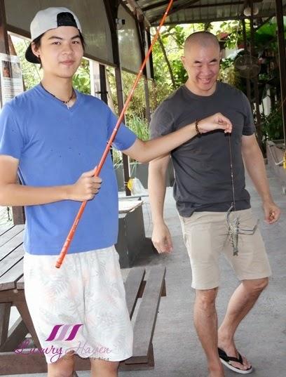 singapore kranji countryside adventure prawning activities