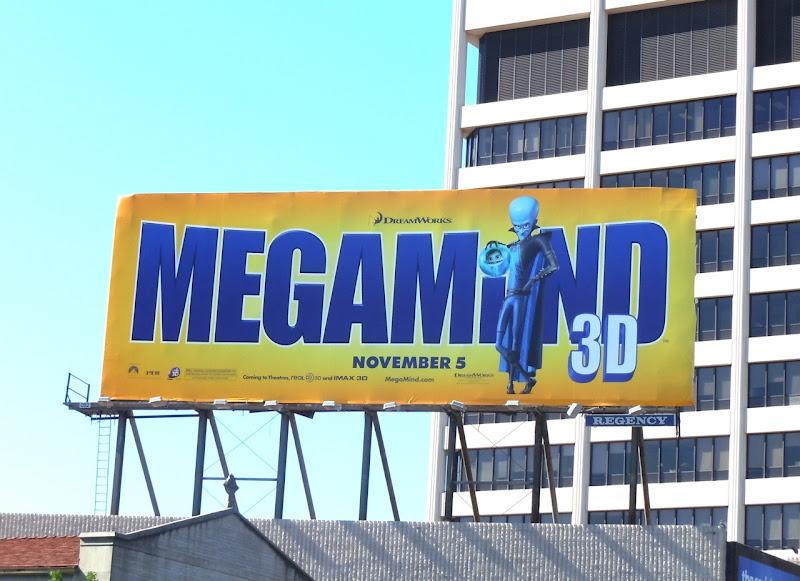 Megamind billboard